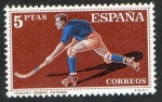 Stamps Spain -  1315- DEPORTES. HOCKEY SOBRE PATINES.