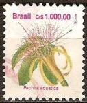 Sellos del Mundo : America : Brasil : Pachira Aquatica