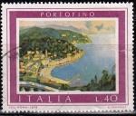 Sellos de Europa - Italia -  Turismo. Portofino