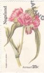Sellos del Mundo : Asia : Nagaland : flores