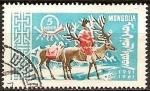 Sellos del Mundo : Asia : Mongolia : Cartero de los renos-1921-1961