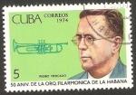 Stamps Cuba -  50 anivº de la orquesta filarmónica de La Habana, Pedro Mercado