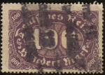 Stamps Europe - Germany -  Valor numeral