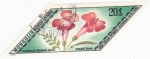 Stamps Mongolia -  flores