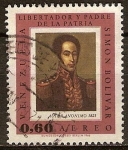 Sellos del Mundo : America : Venezuela : Libertador y padre de la Patria-S.Bolivar