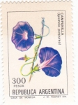Stamps Argentina -  flores