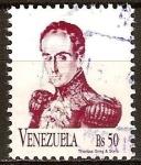 Sellos del Mundo : America : Venezuela : S.Bolivar