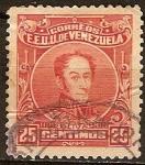 Sellos del Mundo : America : Venezuela : General Bolivar