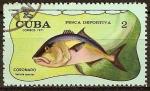 Sellos del Mundo : America : Cuba : Pesca deportiva (Coronado).