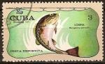 Sellos del Mundo : America : Cuba : Pesca deportiva (Lobina).