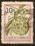 Sellos del Mundo : America : Cuba : Frutas-el Anón