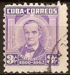Sellos del Mundo : America : Cuba : José de la Luz Caballero (1800-1862).