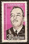 Sellos del Mundo : America : Costa_Rica : Reunion de Presidentes-San Jose de Costa Rica (1963)Cornel.Jul.A.Rivera