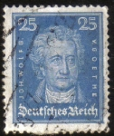Stamps Germany -  JOHAN WOLFGANG VON GOETHE