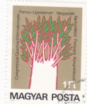 Stamps : Europe : Hungary :  flores
