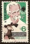 Sellos del Mundo : America : Uruguay : Dr.Albert Schweizer