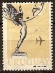 Sellos del Mundo : America : Uruguay : estatua-correo aereo
