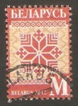 Stamps Europe - Belarus -  759 - Ornamento