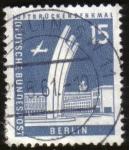 Sellos de Europa - Alemania -  AIRLIFT MEMORIAL