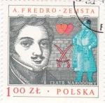 Sellos de Europa - Polonia -  A.Fredro.zemsta