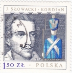 Stamps Poland -  J.Slowacki .Kordian