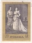 Sellos de Europa - Polonia -  S.Montuszko
