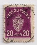 Stamps Europe - Norway -  tjenestefrimerke