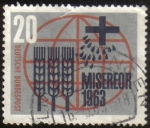 Stamps Germany -  Globe Misereor