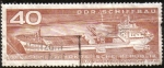 Stamps : Europe : Germany :  Barco Contenedor de Carga