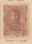 Sellos de America - Venezuela -  Simon Bolibar Ed 1882