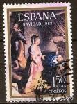 Sellos del Mundo : Europa : España :  Navidad 1958