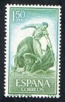 Sellos de Europa - España -  1263-  FIESTA NACIONAL : TAUROMAQUIA. NATURAL.