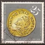 Sellos de Europa - Alemania -  Los hallazgos arqueológicos en DDR.Moneda de oro, 270-273