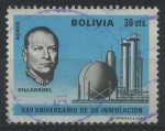 Stamps America - Bolivia -  RAC2 - Presidente Gualberto Villarroel