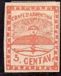 Stamps America - Argentina -  confederacion argentina