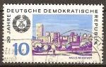 Sellos de Europa - Alemania -  20.Años DDR,Neustadt