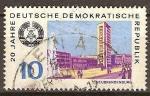 Sellos de Europa - Alemania -  20.Años DDR,Neubrandenbur.