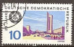 Sellos de Europa - Alemania -  20.Años DDR,Leipzig