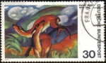 Stamps Germany -  FRANZ MARC