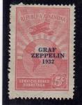 Stamps Argentina -  zeppelin
