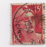Stamps France -  libertad