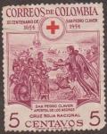 Stamps of the world : Colombia :  III CENTENARIO DE SAN  PEDRO CLAVER