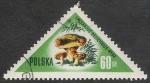 Sellos del Mundo : Europa : Polonia : SETAS-HONGOS: 1.211.004,01-Lactarius deliciosus -Dm.959.11-Y&T.962-Mch.1096-Sc.845