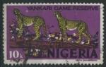Stamps Africa - Nigeria -  S297 - Reserva de caza de Yankari. Leopardo