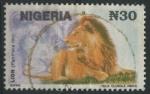 Sellos de Africa - Nigeria -  S615E - Leon