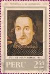Stamps : America : Peru :  Precursores de la Independencia II: José Baquíjano y Carrillo 1751-1818.
