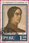Sellos de America - Perú -  1821 - Sesquicentenario de la Independencia - 1971. Micaela Bastidas (1745?-1781).
