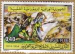 Sellos del Mundo : Africa : Argelia : Guerrilleros