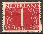 Sellos de Europa - Holanda -  Designación numérica