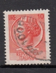 Sellos de Europa - Italia -  Siracusana